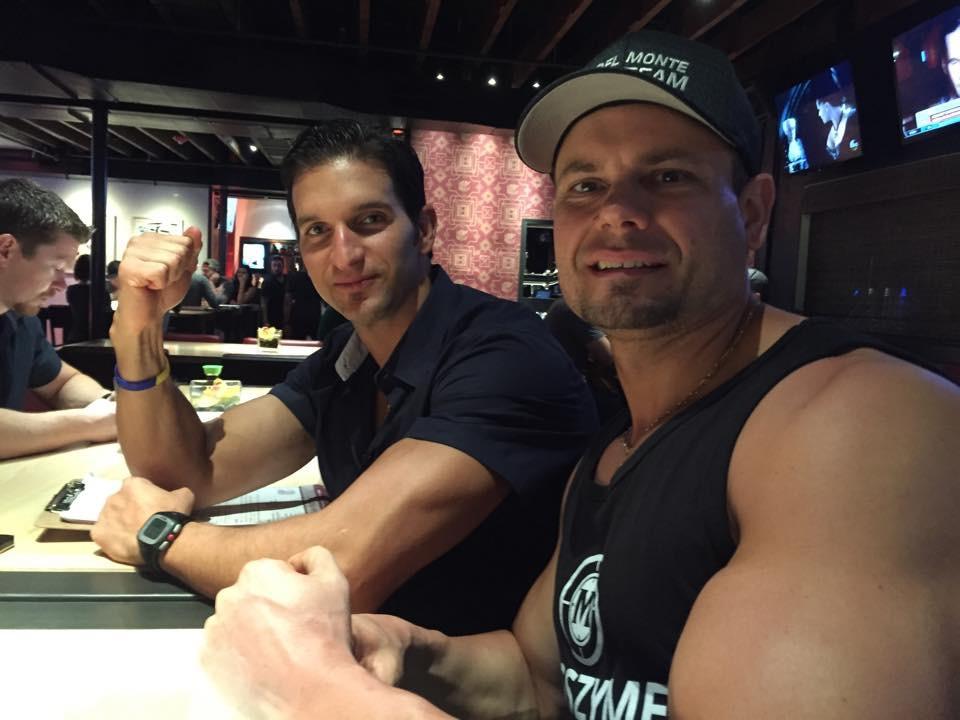 Tim Ernst and Vince Delmonte