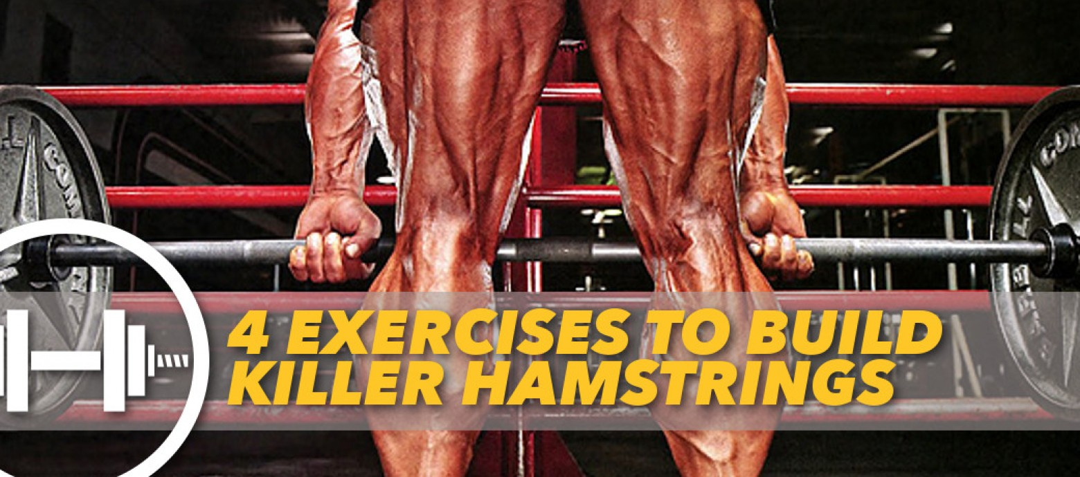 How to grow BIGGER Hamstrings and Glutes with These 4 Exercises