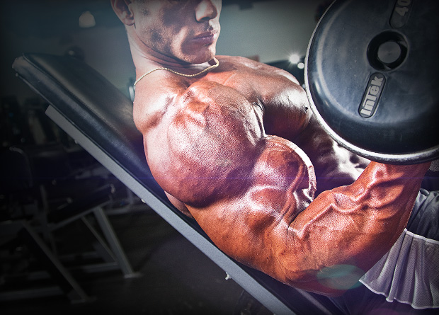 Build Bigger Biceps with this Monster Blaster Workout