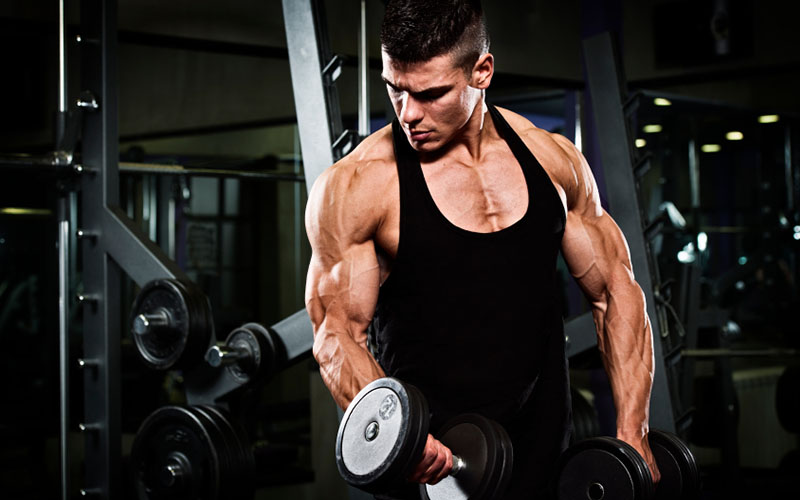 3 BIG Bicep Moves Using Baby Weights For BIGGER Arms