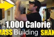 1,000 calorie muscle building weight gaining shake