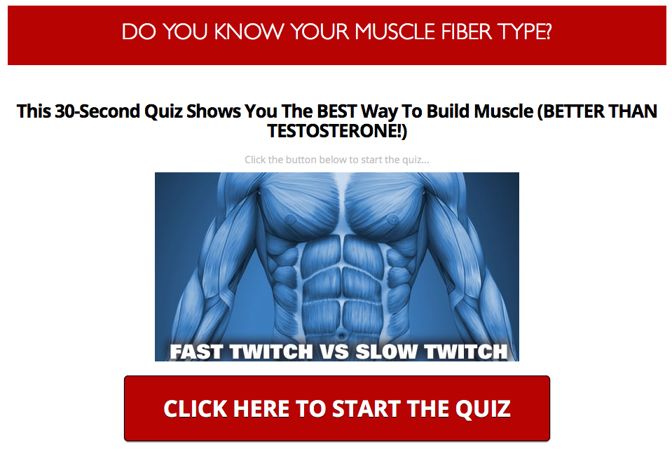 Muscle Fiber Quiz