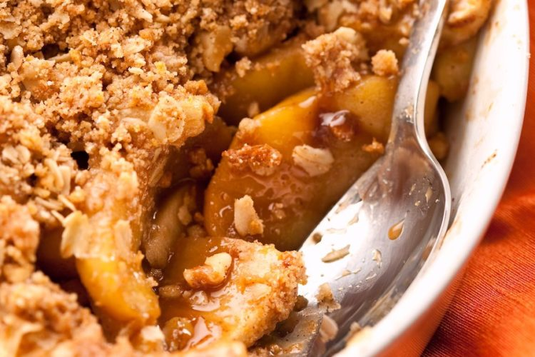 Apple Crisp With Cake Mix And Oats